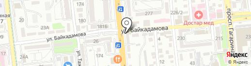 Мария на карте Алматы