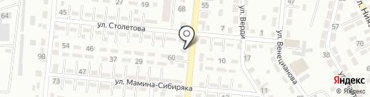 Принцесса Афина на карте Алматы