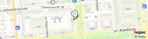 Star Bar на карте Алматы