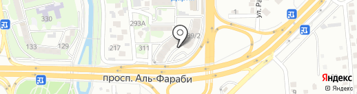 Alma Flat Rent на карте Алматы