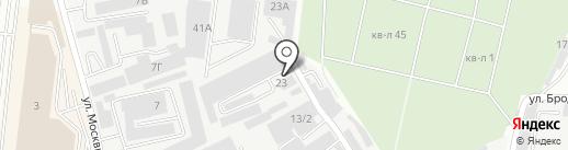 Алма-Мебель на карте Алматы