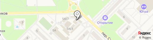ТехноПлат на карте Излучинска