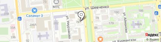 Dalanet на карте Алматы