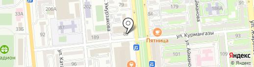 GULDEN COMPANY на карте Алматы