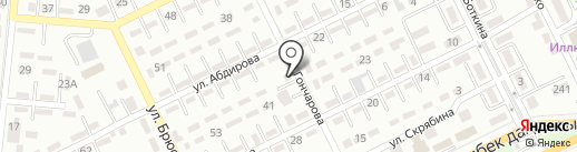 Тамара на карте Алматы