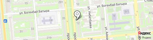 Туристское агентство на карте Алматы