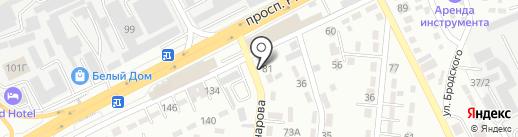 Таир на карте Алматы