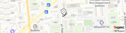 Арайлым на карте Алматы