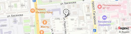 Казахстанское общество по управлению правами интеллектуальной собственности на карте Алматы