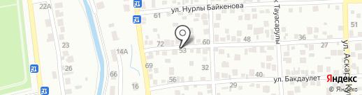 К-6520 на карте Алматы