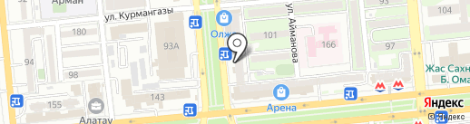 КИТ на карте Алматы