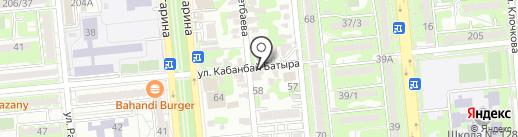 Меруерт, магазин продуктов питания на карте Алматы