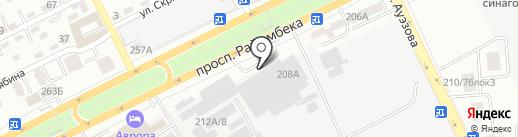 Спецремонт, ТОО на карте Алматы
