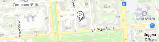 Кошмар за стеной на карте Алматы