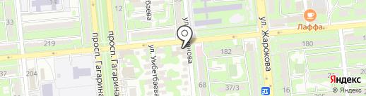 PORSHENЬ на карте Алматы