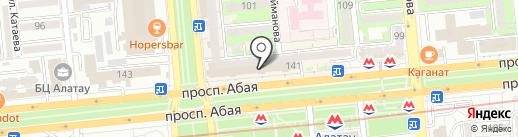 Бутик на карте Алматы