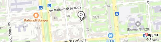 Билком 33 на карте Алматы