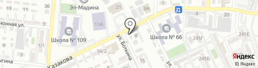 Жетысуский районный эксплуатационный участок на карте Алматы