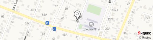 Акжан на карте Жапека Батыра
