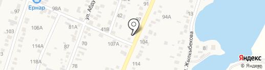 Доскер на карте Жапека Батыра