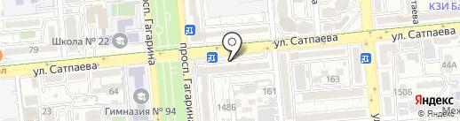 ASD на карте Алматы
