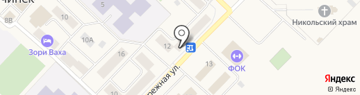 Уют, ТСЖ на карте Излучинска