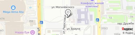 Alfa Group Education на карте Алматы