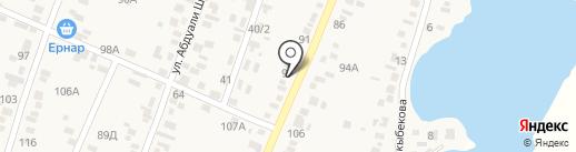 Аль-Аят на карте Жапека Батыра