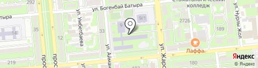 Гимназия №79 на карте Алматы
