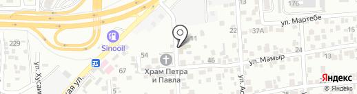 ХайТекСервис на карте Алматы