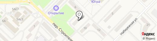 Имидж на карте Излучинска