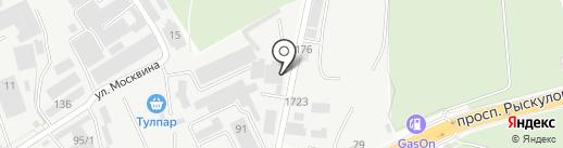 NCT на карте Алматы