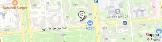 SMALL на карте Алматы