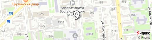 ЕВРОПА ТВ на карте Алматы