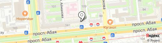 Ломбард G5, ТОО на карте Алматы