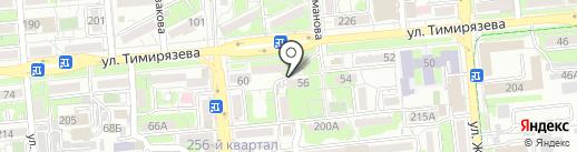 Ювант на карте Алматы
