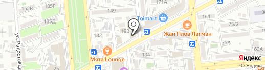 Just Bar на карте Алматы