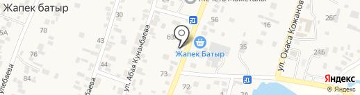 Магазин одежды на карте Жапека Батыра