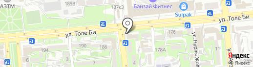 Mr.Donerci на карте Алматы