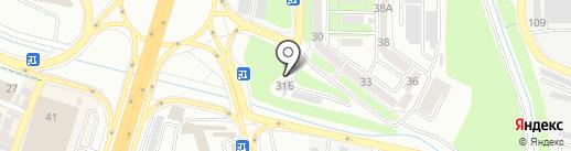 Автостоянка, ТОО Акниет на карте Алматы