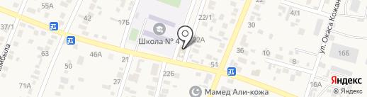Светлана на карте Жапека Батыра