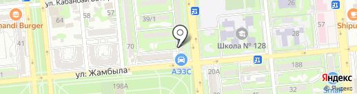 Медина, магазин продуктов на карте Алматы