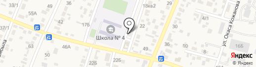 Почтовое отделение связи пос. Жапек Батыр на карте Жапека Батыра