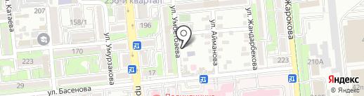 Сказка в дом на карте Алматы