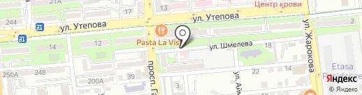 Persona на карте Алматы