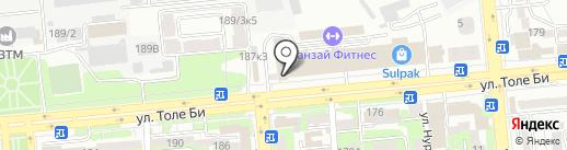 DM-Market на карте Алматы