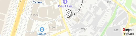 Келет на карте Алматы