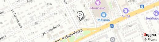 EXTECO Central Asia на карте Алматы
