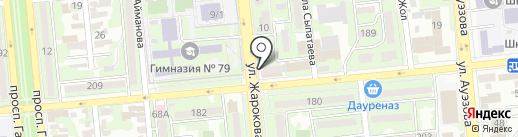 Mark на карте Алматы