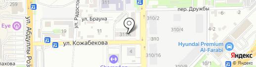 Kulager-Energy, ТОО на карте Алматы